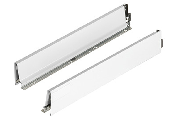 29 BLUM TBX ANTARO Zarge grau 450mm links